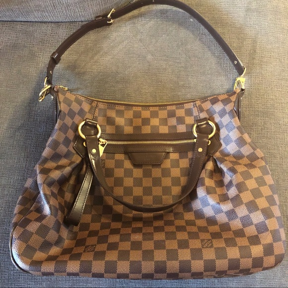 835503319852 Louis Vuitton Handbags - Louis Vuitton Evora MM Damier Ebene Tote Shoulder